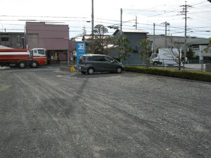 カネジョウ日の出店駐車場